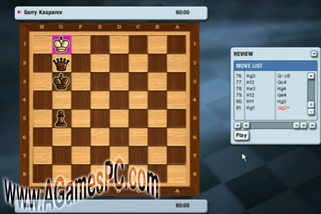 Kasparov chessmate full version free latest android,ios,pc game.