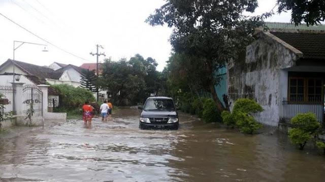 Jember Kembali di Terjang Banjir, 158 Rumah Terendam