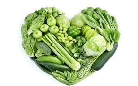 Buah dan sayur warna hijau