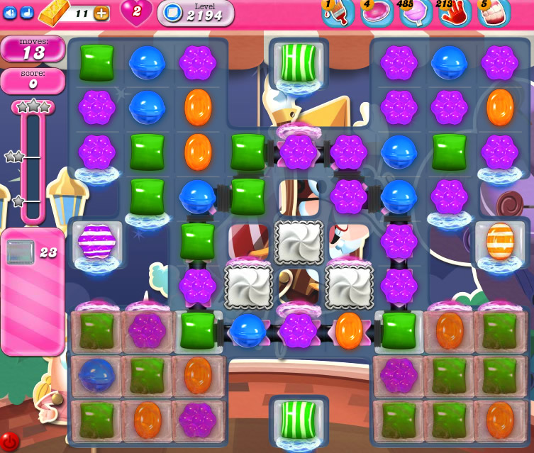 Candy Crush Saga level 2194