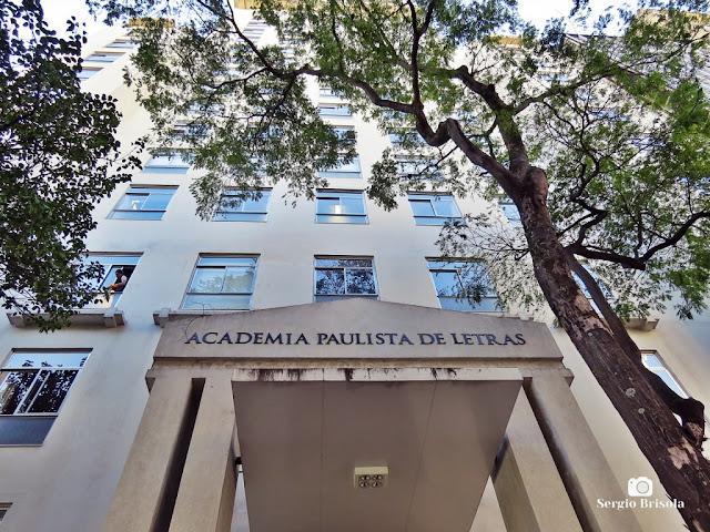 Vista da fachada da Academia Paulista de Letras - Centro - São Paulo
