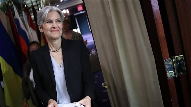US Green Party nominee Jill Stein says she's going to presidential debate