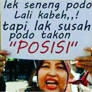 DP BBM Kata Lucu bahasa Jawa