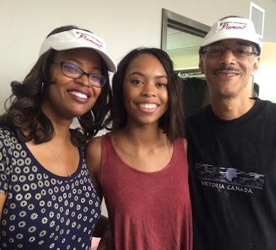Felton family at Trinity University