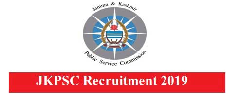 JKPSC Fresh Jobs Recruitment 2019