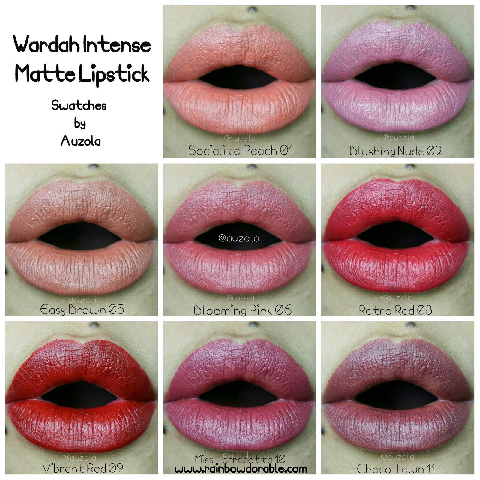 Rainbowdorable By Auzola Indonesian Beauty Blogger Review Wardah