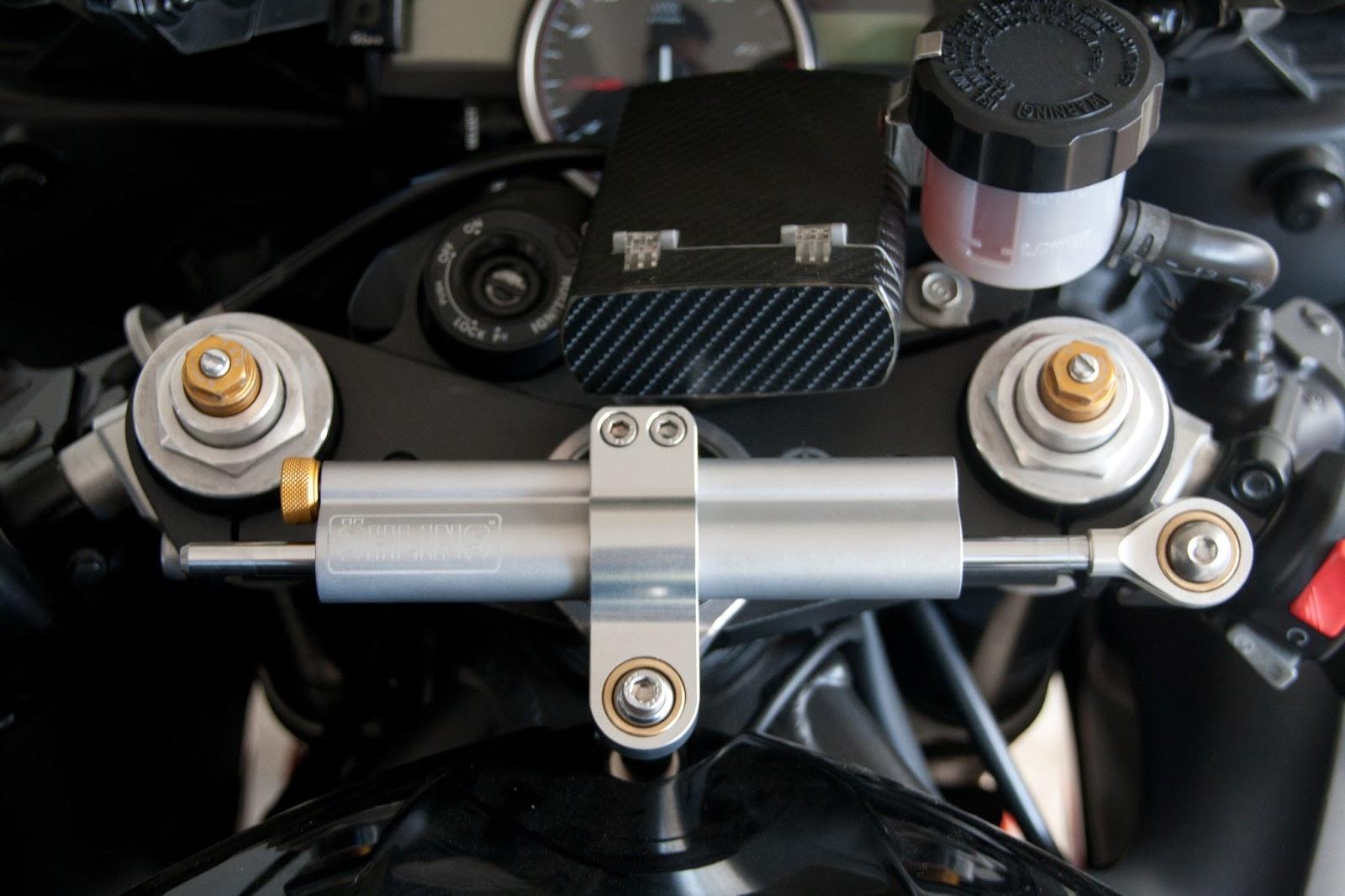 ohlins steering damper instructions