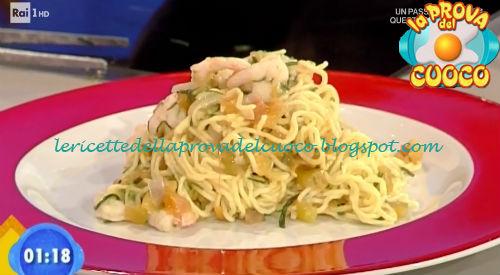 Tagliolini ai gamberi ricetta Bertol da Prova del Cuoco