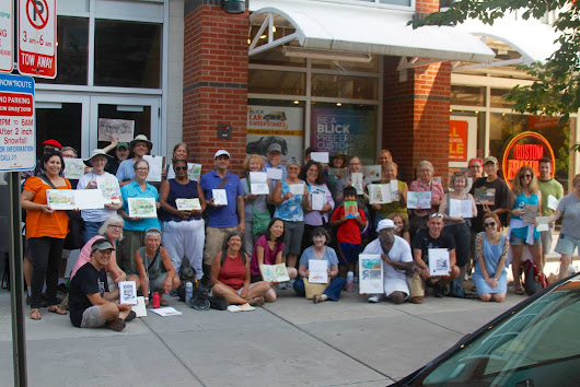August 2015 Sketch Meet: Blick Art Materials, Evanston