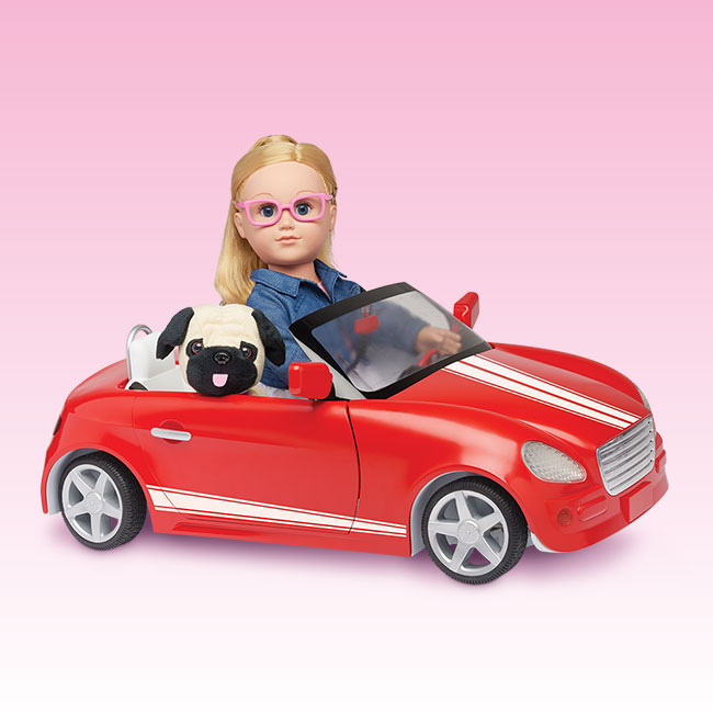 Living a doll 39 s life news my life as new furniture for Motorized barbie convertible car