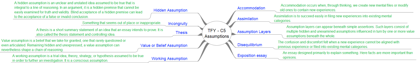 assumptions and fallacies essay 1 Final exam- fallacies, assumptions, and arguments paper assignment art history as an academic discipline is a scholarly, interdisciplinary, research-based activity.