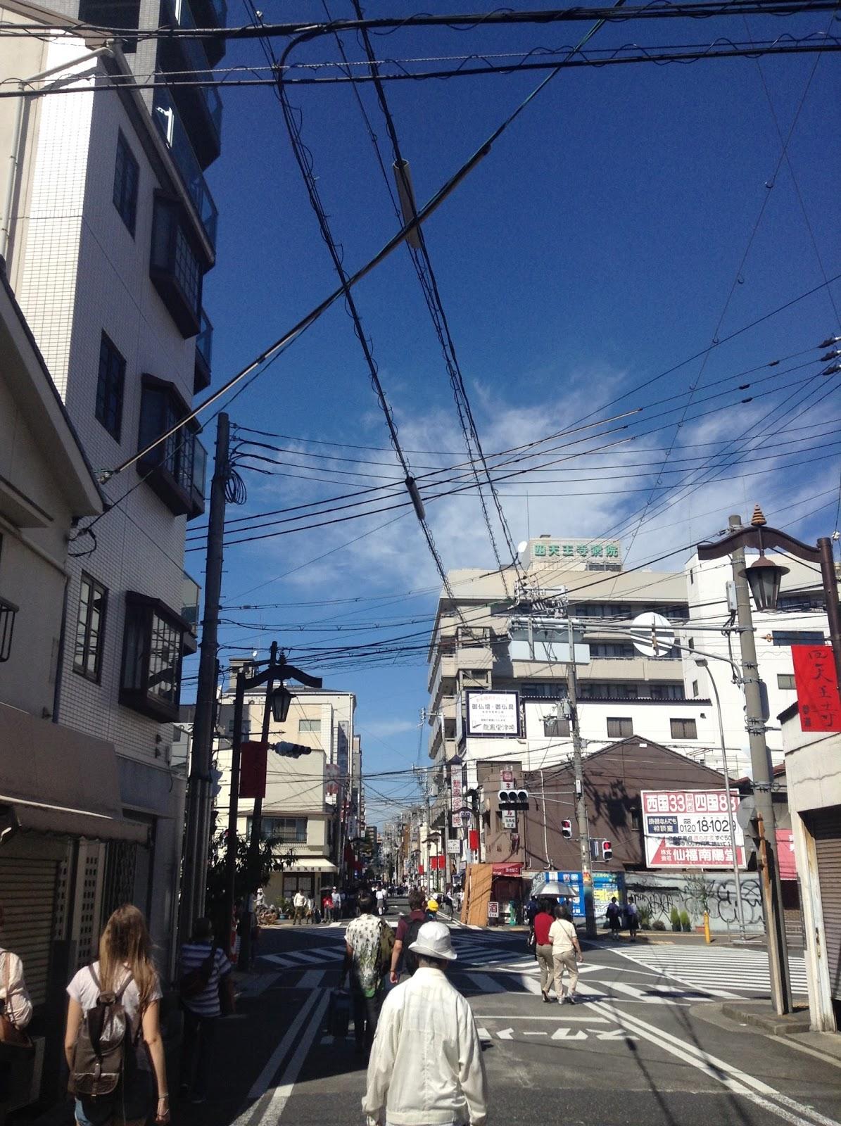 Japanese street Tennoji Osaka