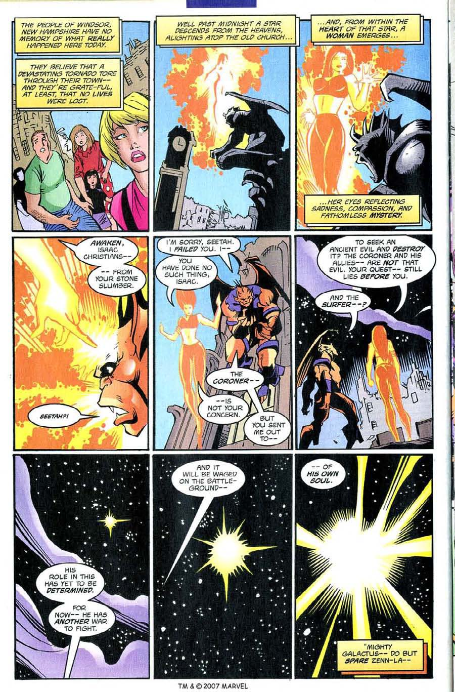 Read online Silver Surfer (1987) comic -  Issue #139 - 34