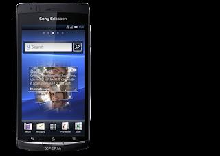 Spek Sony Xperia Arc Hidup dengan warna