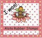 ♥ Juni 2013 bei Alota Rubber Stamps Challenge ♥
