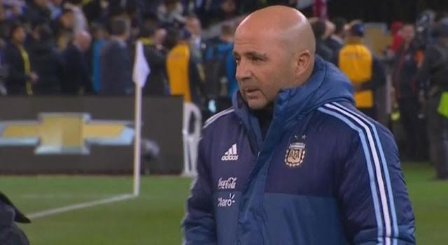 jorge sampaoli - imagenes seleccion argentina de futbol