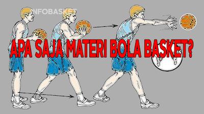Apa Saja Materi Bola Basket