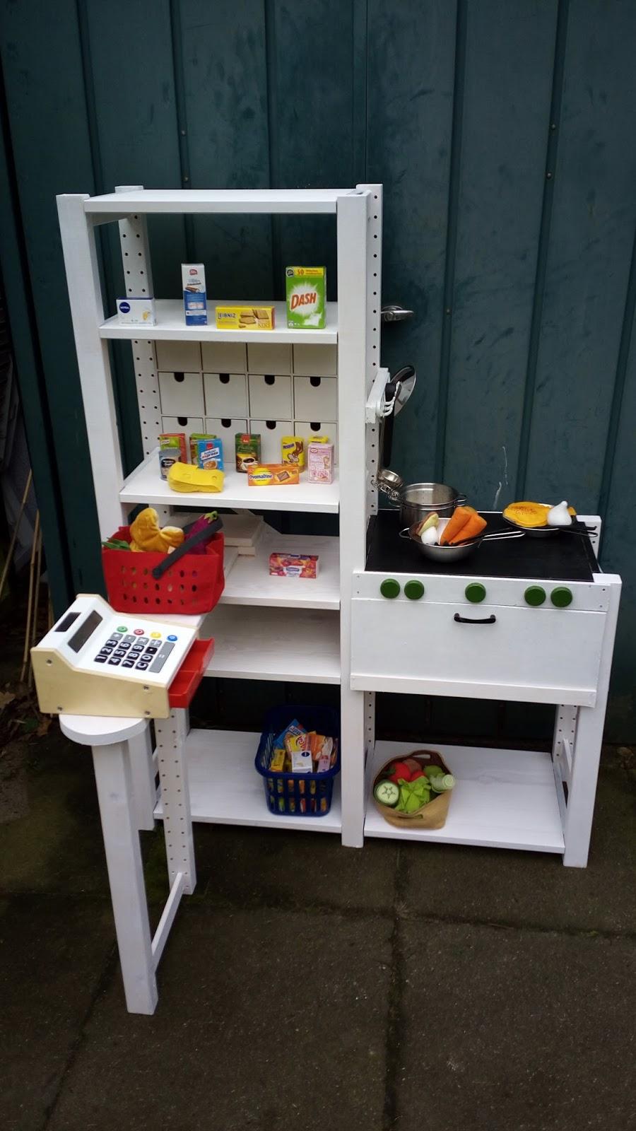 der zauselbär: die kaufladen-küche