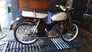 Dijual Motor Antik DKW Hummel 1961 ..Langka Banget Ges..