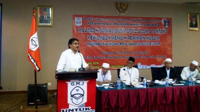 Adhyaksa Dault: Mayoritas Warga Jakarta Ingin Gubernur Muslim