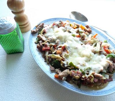 Alambre de Chuleta; a Mexican Pork and Pepper Hash