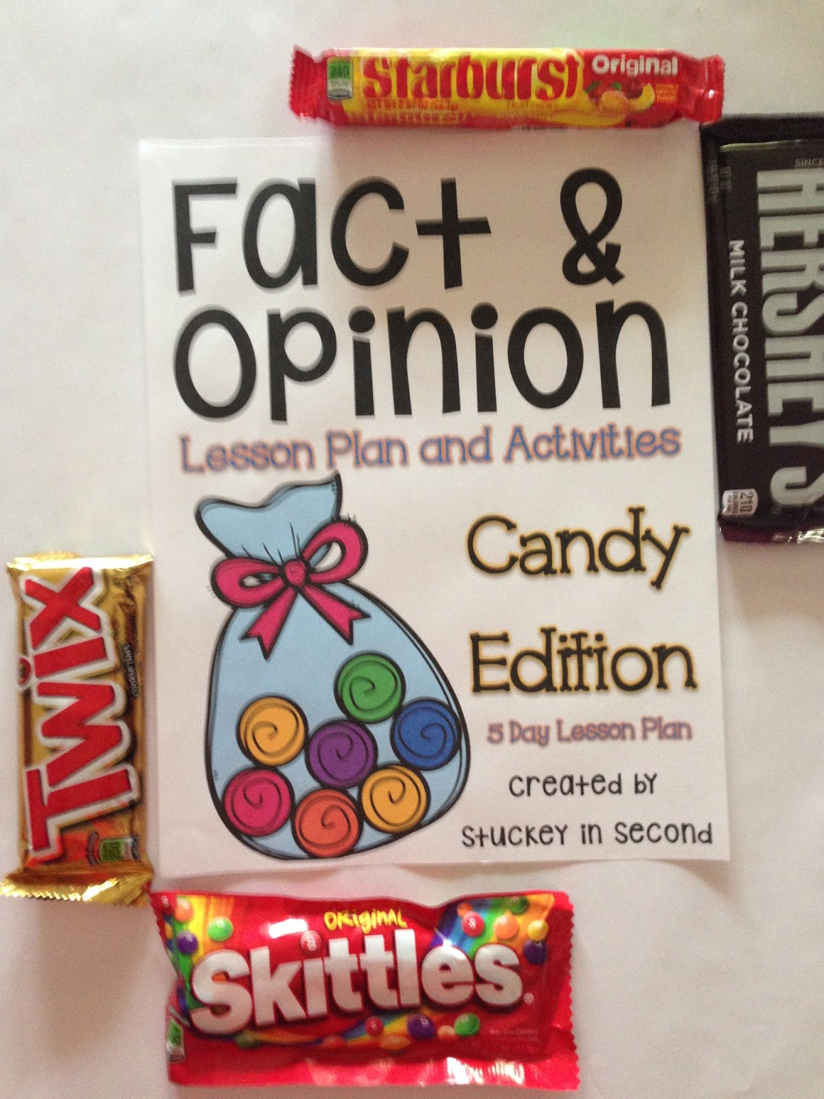 Stuckey in Second: Teaching Fact & Opinion with Candy