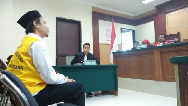 Ketua RT Penggerebekan Sejoli di Tangerang Divonis Penjara 5 Tahun