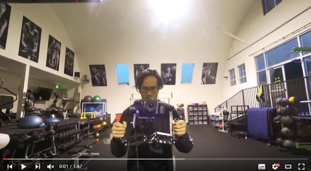 たった10万円で超安定スタビライザー付の一眼レフ変態カメラマン?になれる電動式ギンバル(Gimbal)