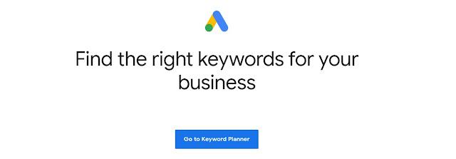 Keyword Planner By Google