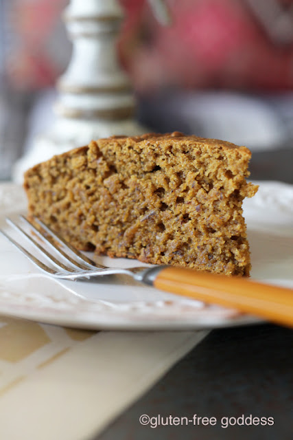 A slice of Gluten-Free Pumpkin Pie Bread without xanthan gum. So good.