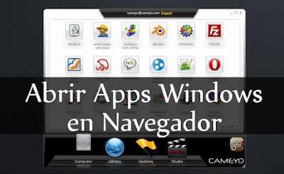 Cómo ejecutar aplicaciones de Windows en su navegador