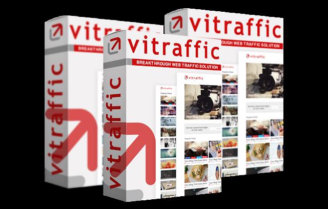 [GIVEAWAY] Vitraffic [Power of WordPress, Facebook, Amazon and eBay]