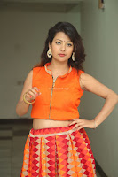 Shubhangi Bant in Orange Lehenga Choli Stunning Beauty ~  Exclusive Celebrities Galleries 067.JPG