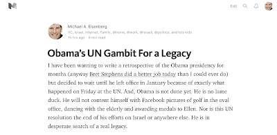 Part 2 - Obama's Gambit for a UN Legacy is on Medium now