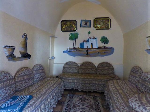 stanza casa villaggio nubiano