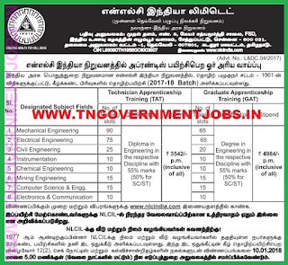 NLC-APPRENTICE-TRAINEE-RECRUITMENT-NOTIFICATION-DECEMBER-2017-WWW-TNGOVERNMENTJOBS-IN
