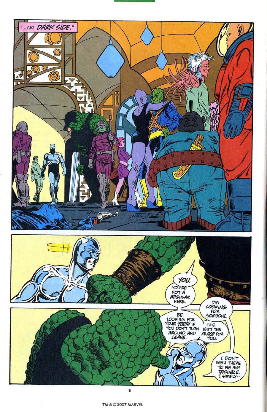 Read online Silver Surfer (1987) comic -  Issue #89 - 10