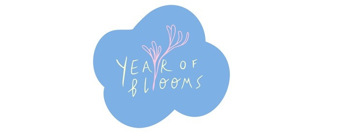 logo for flower blog series