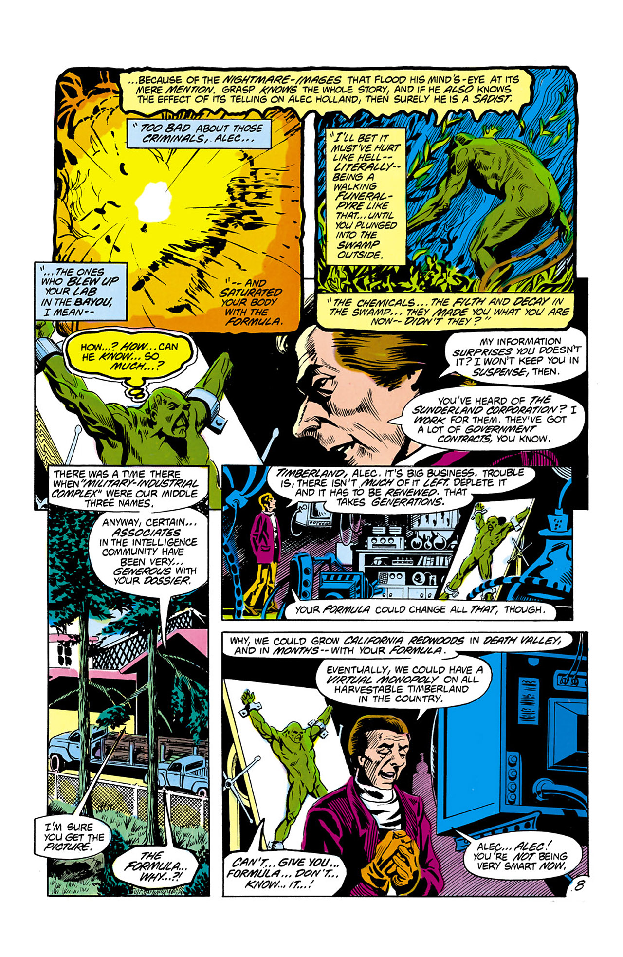 Swamp Thing (1982) Issue #2 #10 - English 9
