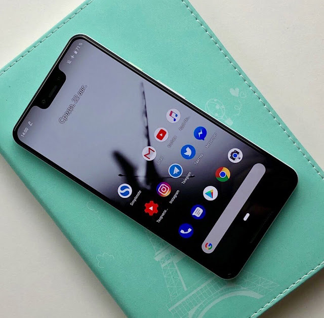 Google Pixel 3 XL bocor notch nya Aneh!