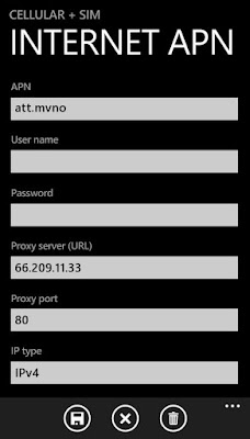 APN For Windows Phone