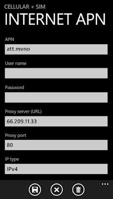 APN For Windows Phone