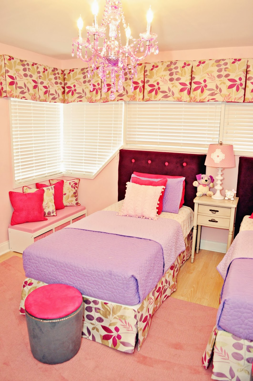 pink childrens bedroom ideas live laugh decorate pink meets purple in our room reveal 16731