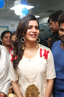 Samantha Ruth Prabhu Smiling Beauty in White Dress Launches VCare Clinic 15 June 2017 037.JPG