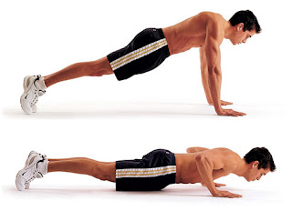 push-up exercise