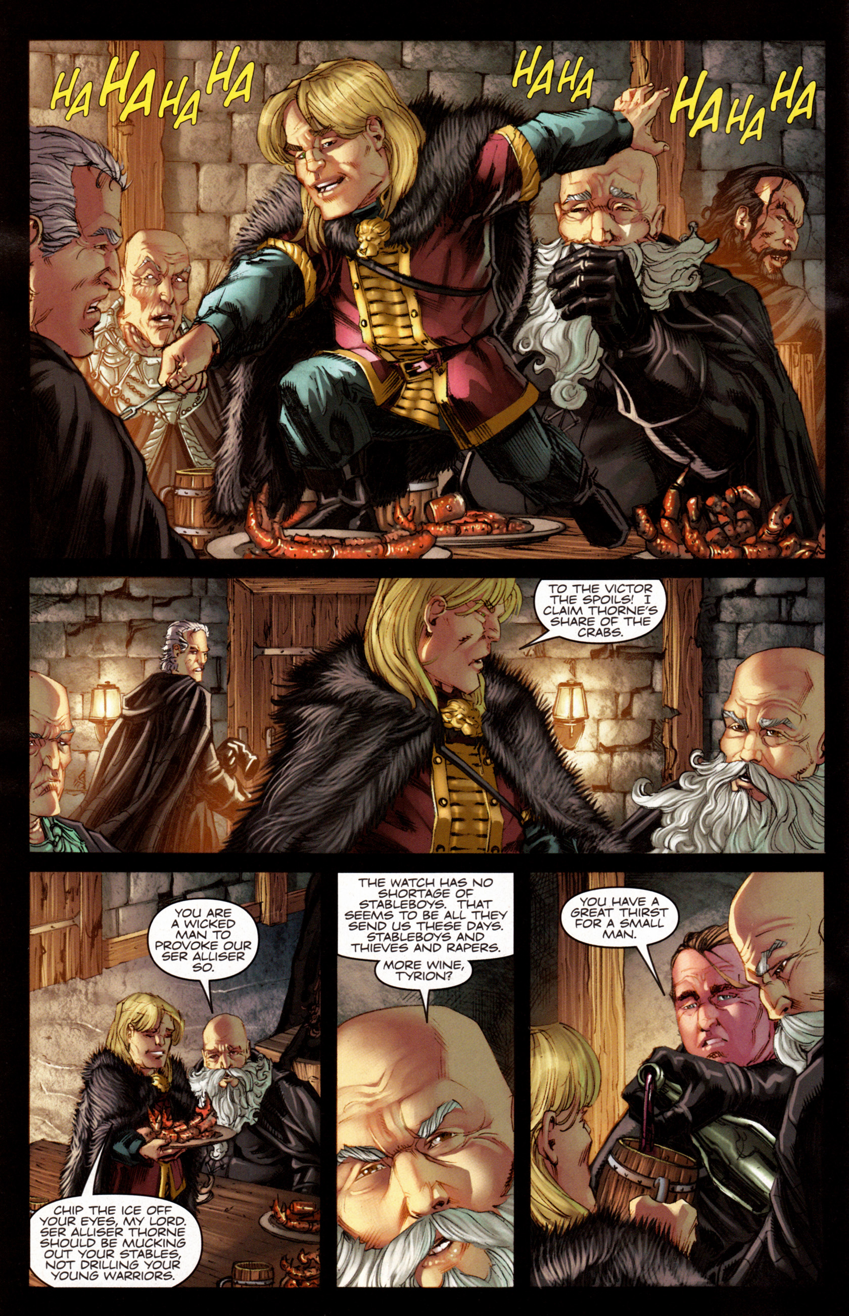 Read online A Game Of Thrones comic -  Issue #7 - 4