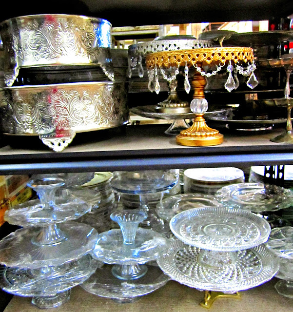 Cake Stands, Something Borrowed Vintage Rental, Portland, O