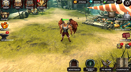 The legendary action RPG offered by GAMEVIL with  Darkness Reborn Mod Apk [Attack+Immortality] Free Android