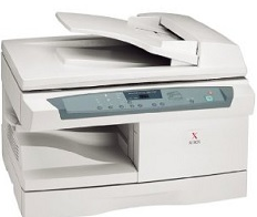 Xerox WorkCentre XD125f Xerox copier / digital laser represented by Xcopy is a copier, printer. It's sold under the original designation of the Digital Copier Printer - WorkCentre XD125f Laser Printer and you can find more information SUPPORT XEROX .COM