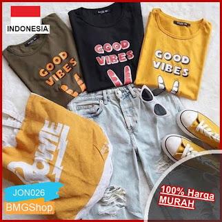 JON26 Kaos Good Vibes Tshirt Tumblr Tee BMGShop